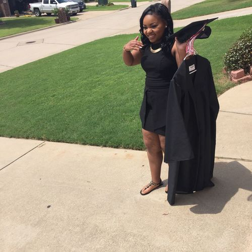 Graduation That's Me 🎈👻 Slayed Or Nah That's Bae