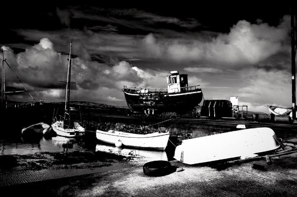 blackandwhite at Connemara by •Gerry L•