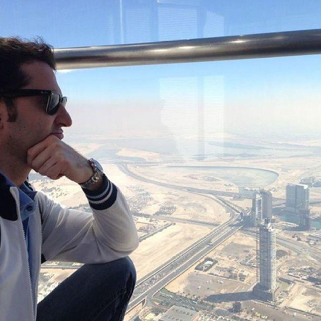 Burjalkhalifa Atthetop Burj Alkhalifa Tower Dubai Dubailand DXB Emirates Gulf UAE Arab Arabic Inside Bestplace Bestoftheday Me Desert Buildings Travel Trip Iloveit OneLove ILoveUAE Ilovedubai instauae instacity instadubai amazing sky