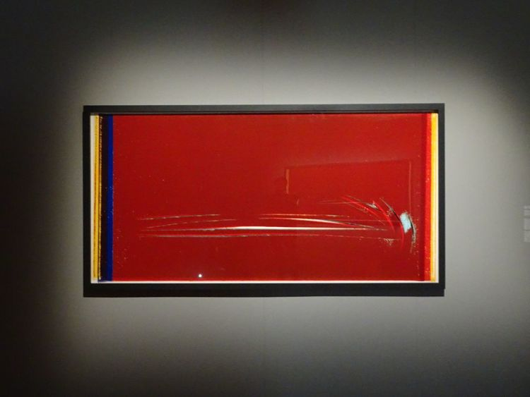 Red Contemporary Art Red No People Indoors  Picture Ulay Close-up Creativity Schirnkunsthalle Schirn