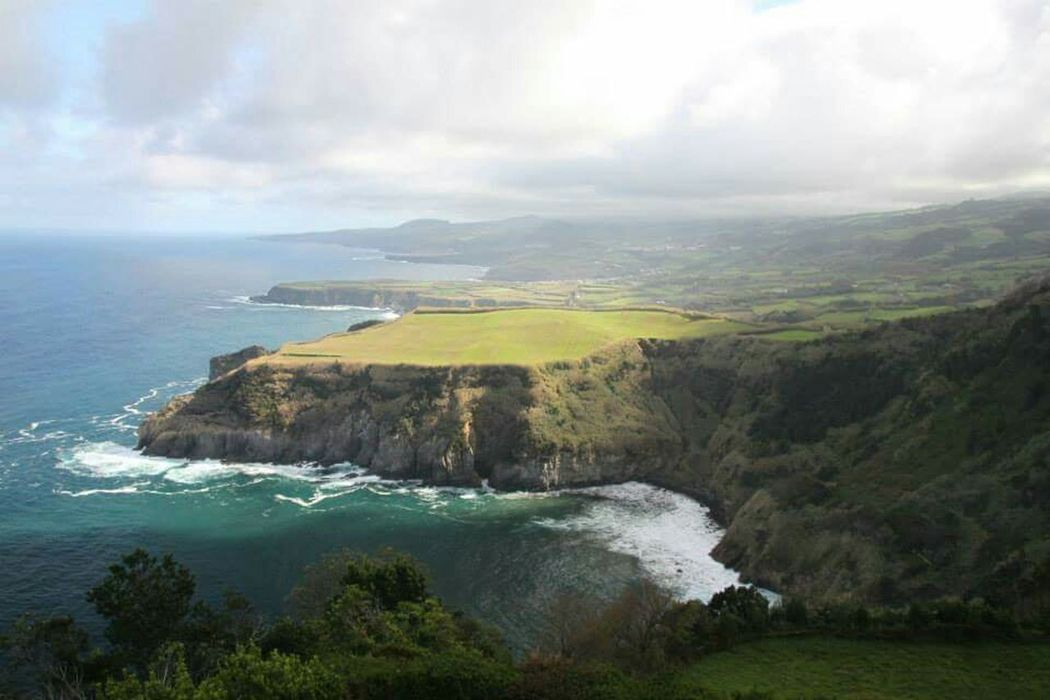 Ponta Delgada is a beautiful place with scenic landscapes and blue beaches. Pontadelgada Azores Açores Portugal Saomiguel Travel Landscape_photography Beachphotography EyeEm Best Shots EyeEm Nature Lover