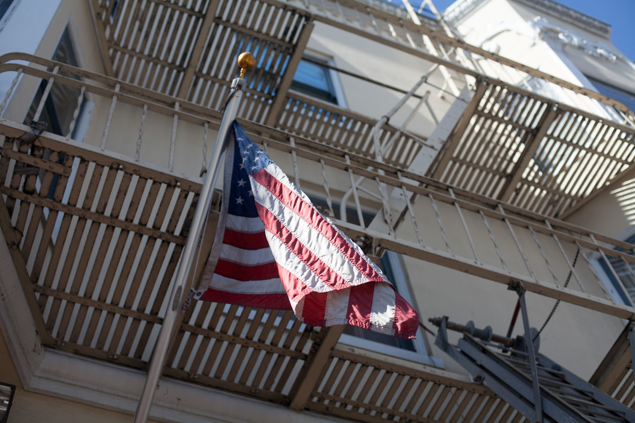 Beautiful stock photos of american flag, American Flag, Apartment, Architecture, Balcony