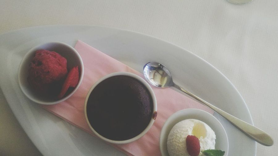 Dessert Dessert Time Souffle Ice Cream Mousse White Chocolate Mousse Delicious Relaxing Moments