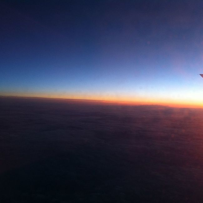 I snapped this photo from an airplane window when I went to Copenaghen.. View From An Airplane From An Airplane Window Sunset Sunshine Numbs Twilight