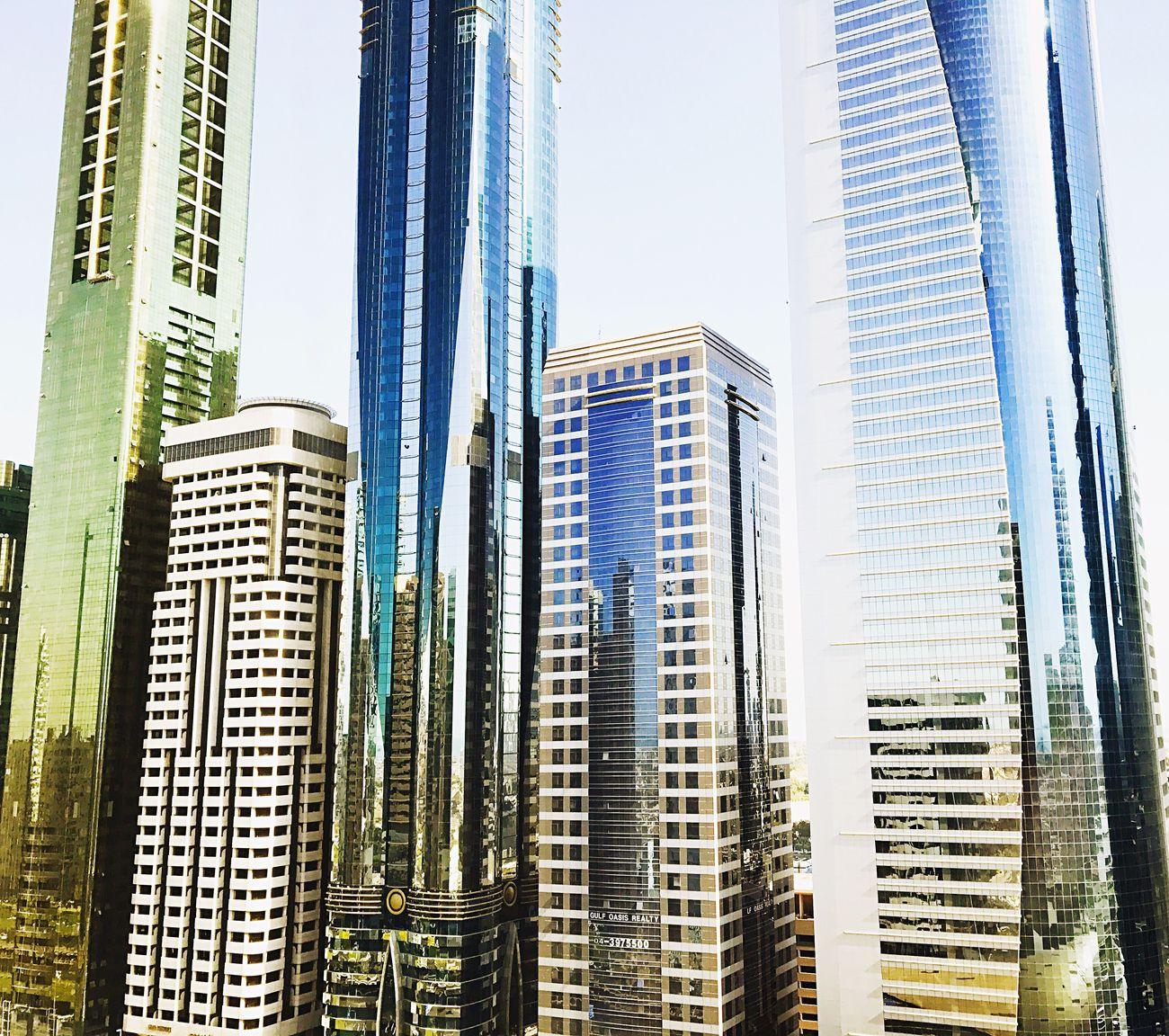 Skyscraper City Architecture Dubai DXB First Eyeem Photo