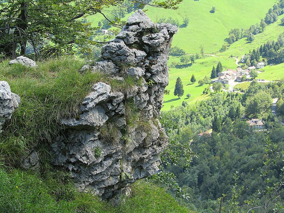 The Rocks in the Mountains are watching Landscape of Nature