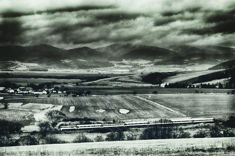 Slovakia Trainspotting Hilltop Volcano Crater