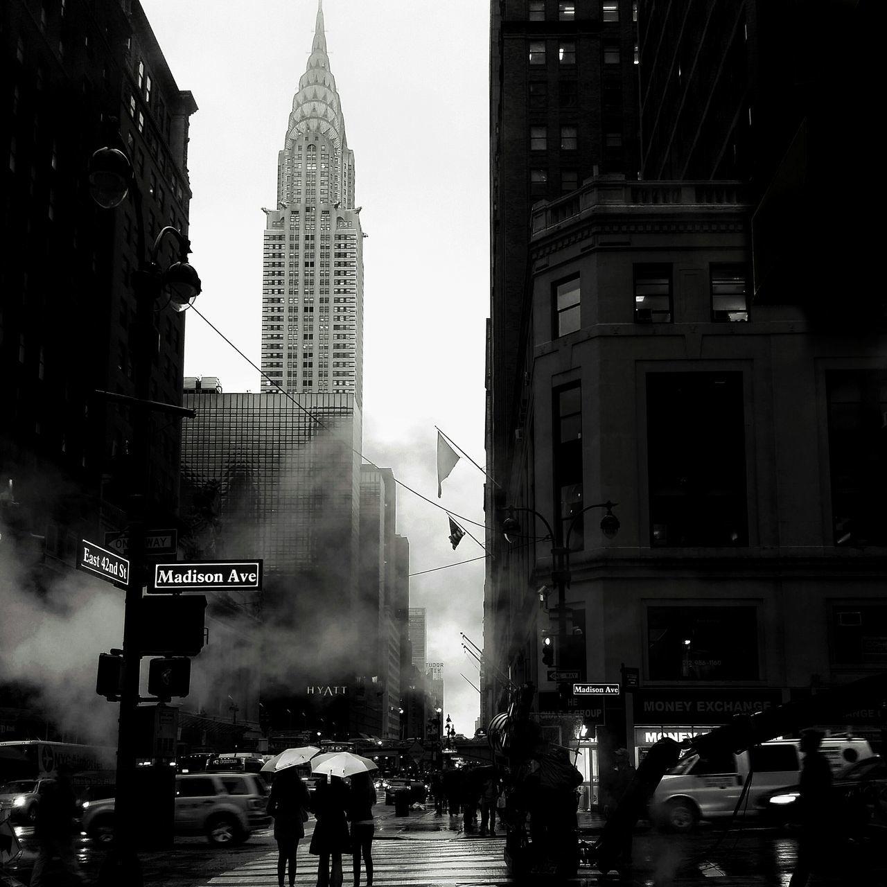New York Street Protography First Eyeem Photo Chrysler Building Blackandwhite Photography Streetphoto_bw EyeEm Best Shots - Black + White The Street Photographer - 2015 EyeEm Awards Blackandwhite