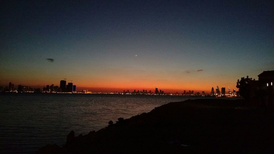 Sunset Bahrain البحرين عراد
