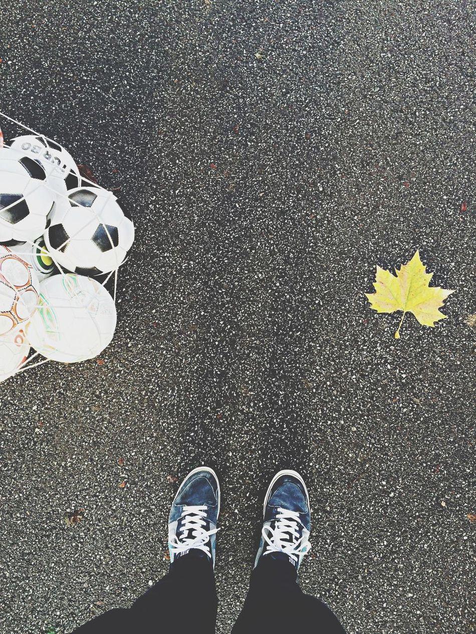Beautiful stock photos of soccer balls, Autumn, Ball, Change, Day