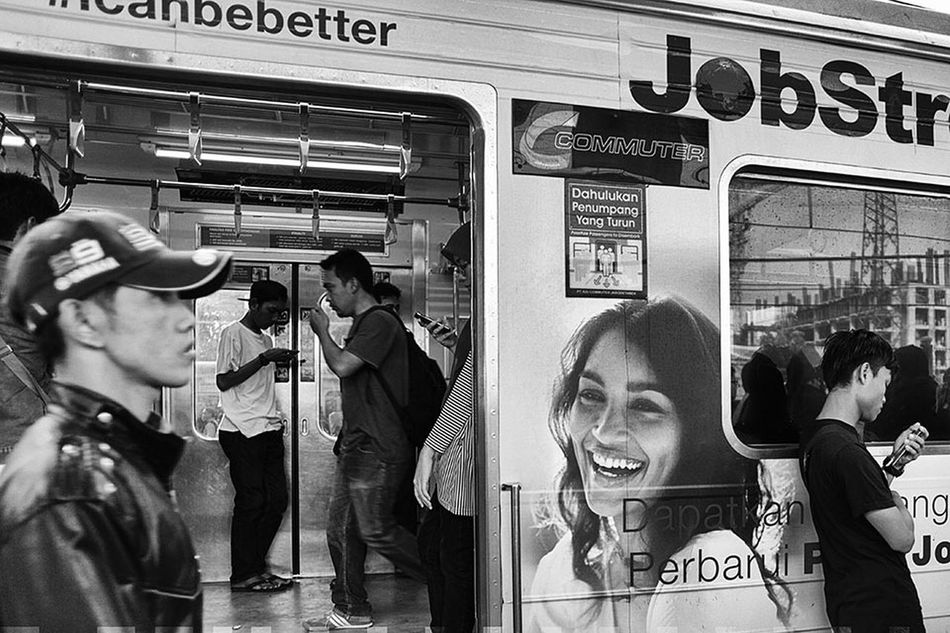 Trainphotography Streetphotography Streetphoto_bw Everybodystreet Blackandwhite Blackandwhite Street Photography INDONESIA People In The Streets