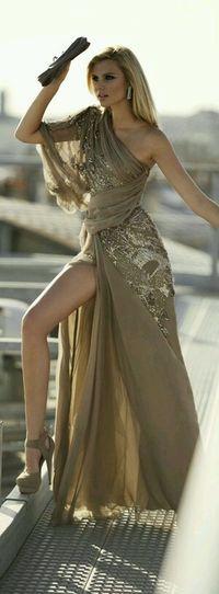 Gorgeous Beautiful Dress  Designers Style And Fashion Night Dress
