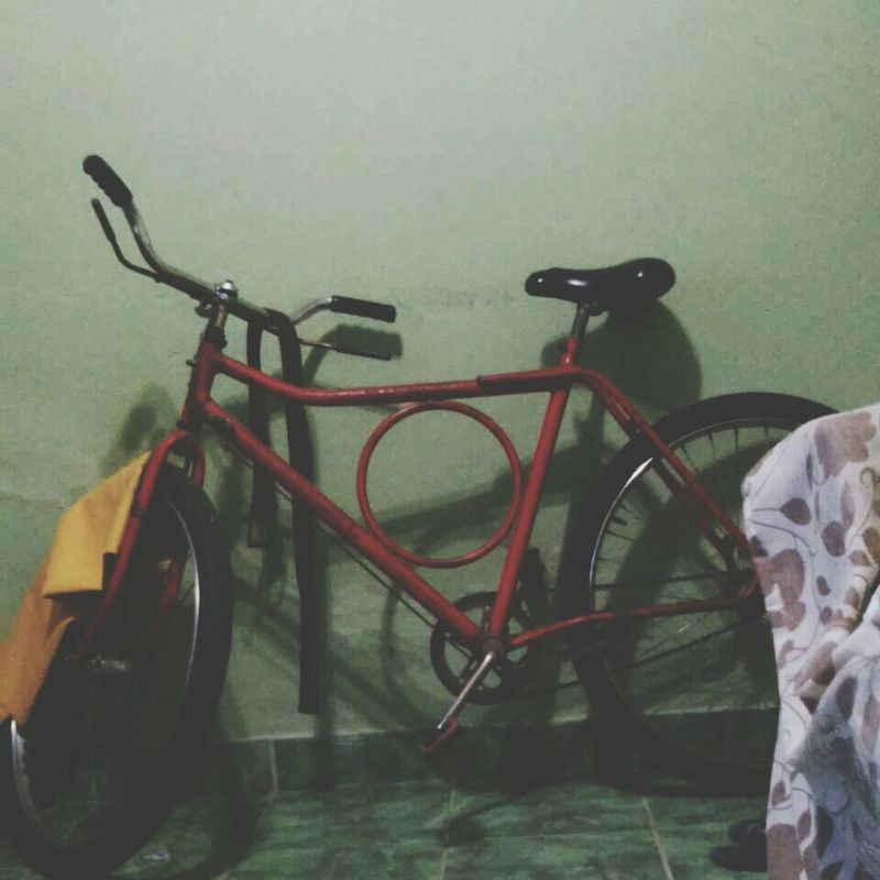 Automovel Bicicleta Bike Vermelha