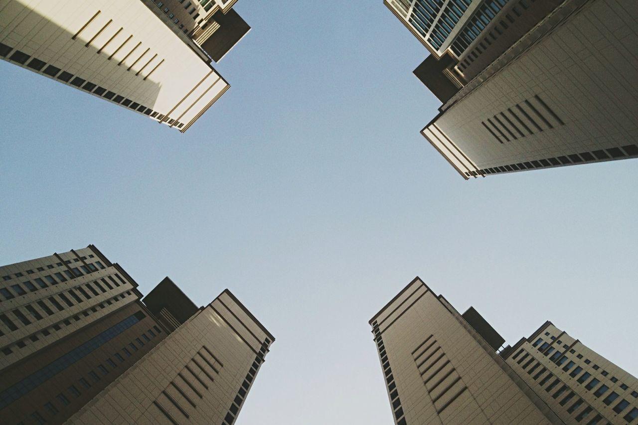 Beautiful stock photos of seoul, Apartment, Architecture, Building, Building Exterior