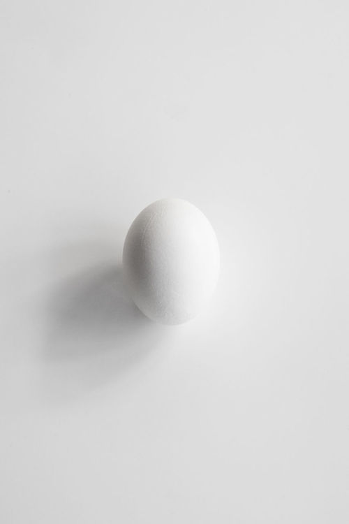 Photo of a white egg in a white isolated background Backgrounds Creative Healthy Eating Isolated On White Isolated White Background Rounded Shapes Wallpaper Wallpapers White Background White Egg