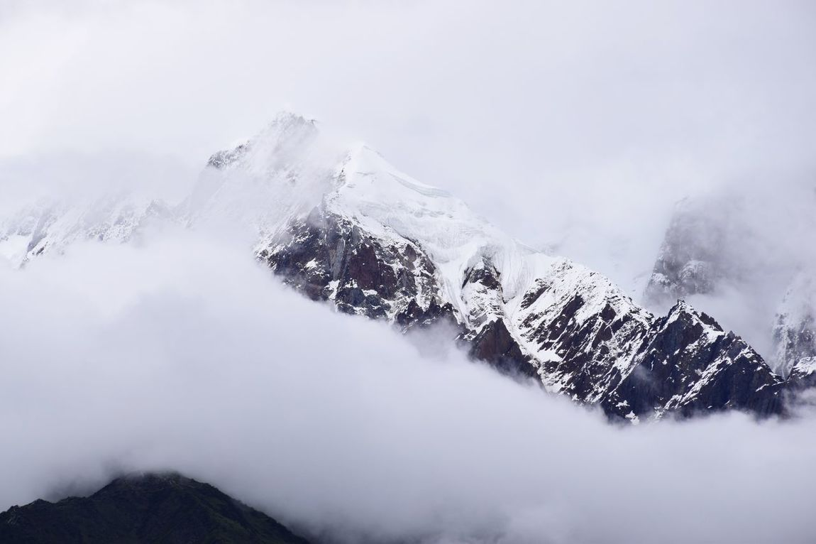 Hello World Tibet Namjagbarwa Peak