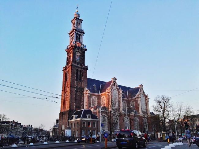 Amsterdam - Westerkerk Amsterdam Amsterdamcity Kerk Church Building Architecture