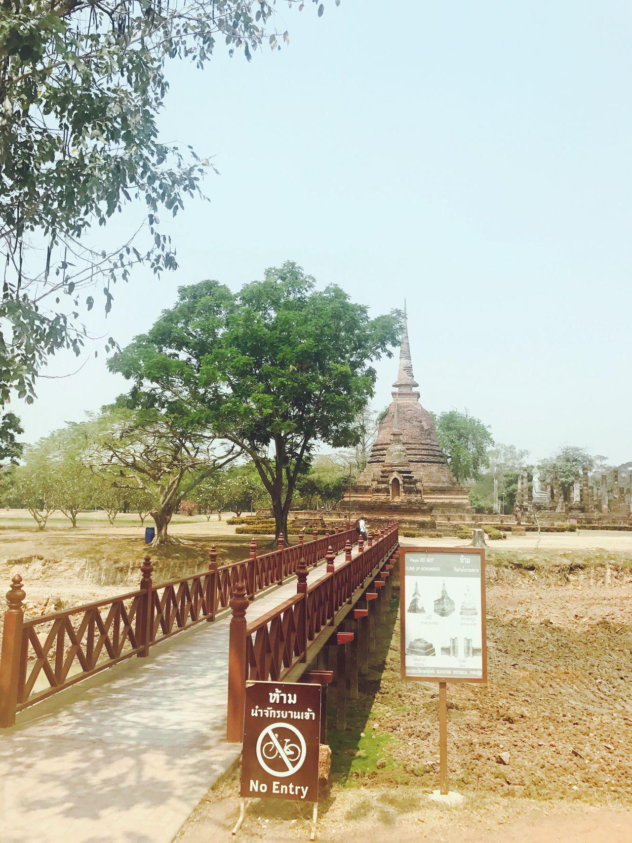 Pagoda Sukhothai Sukhothaihistoricalpark Thailand Pagoda Temple Wat Old History Historical Place Pary