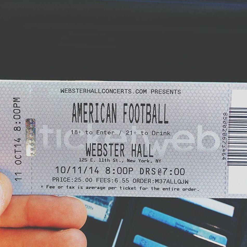 Road trip to NYC for Americanfootball Nosleeptillbrooklyn