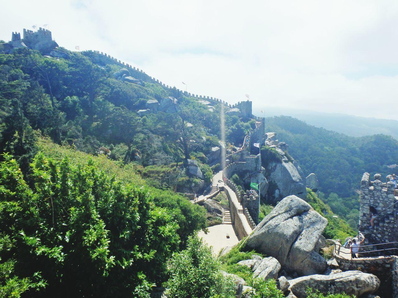 Beautiful stock photos of castle, Ancient, Architecture, Built Structure, Castelo Dos Mouros