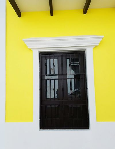 Yellow Architecture Built Structure Simplicity Perspective San Juan PR Architectural Detail Minimalism Shapes And Forms Urban Exploration Freshness Simple Elegance Reflection Light And Shadow
