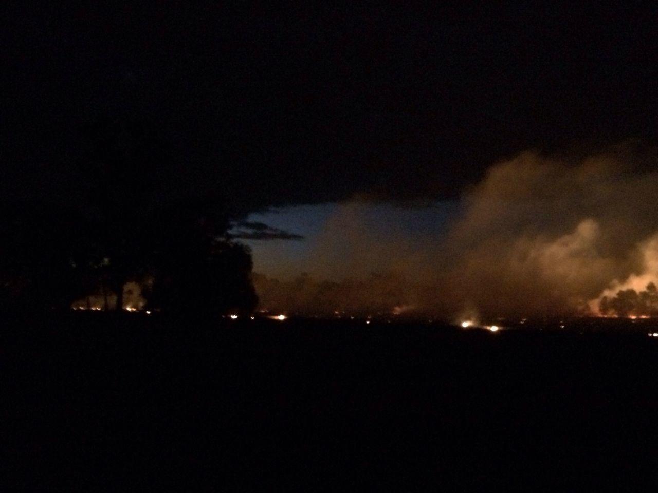 Controlled burn Fire Controlled Urn Bushfire Farm Life Walbumdrie