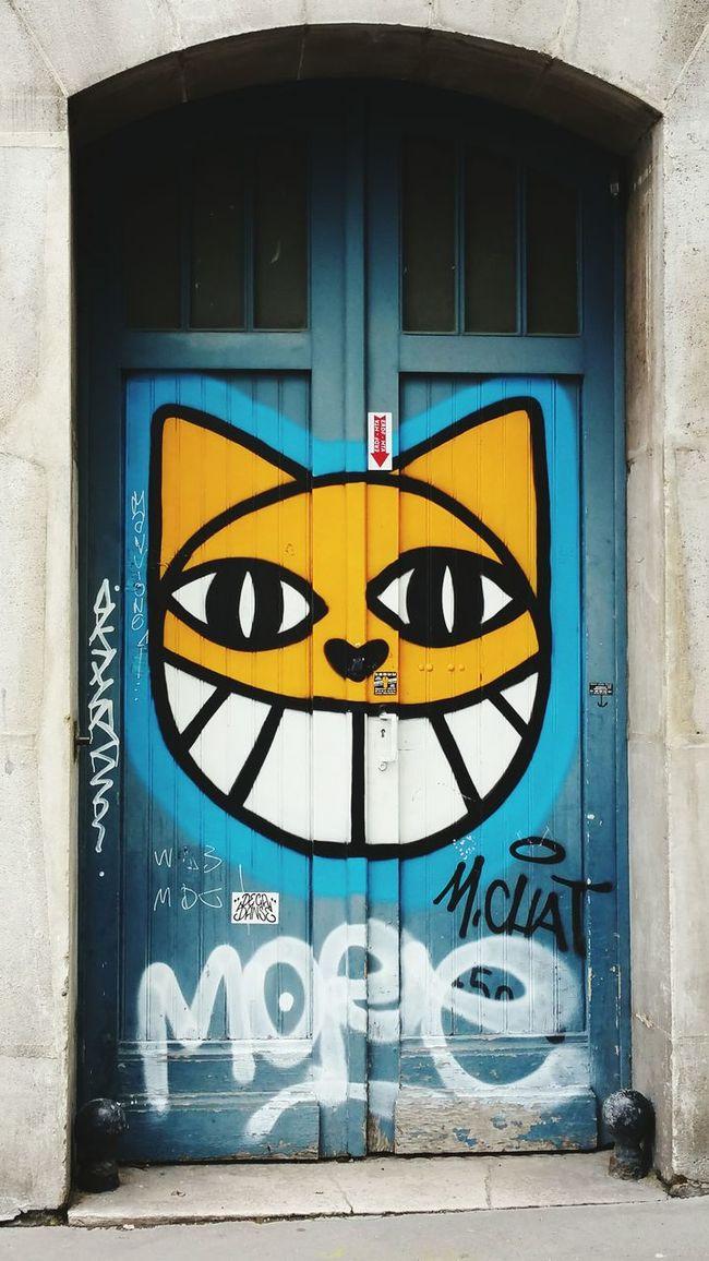 Monsieur Chat Streetart Graffiti Art Paris Street Photography Street Life Street Art