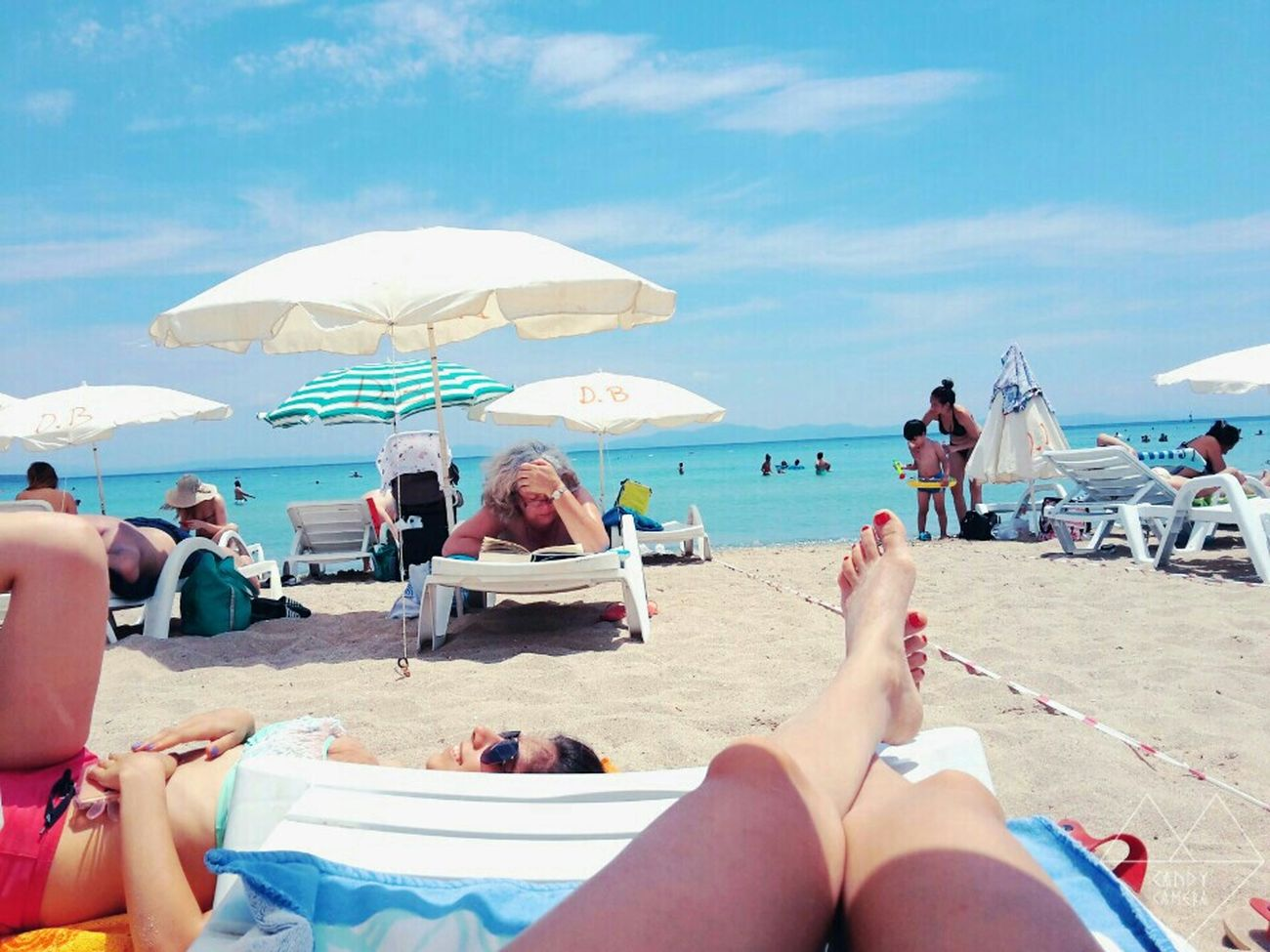 Holiday POV Sunshine Hello World Enjoying The Sun Sea Being A Beach Bum The Best From Holiday POV