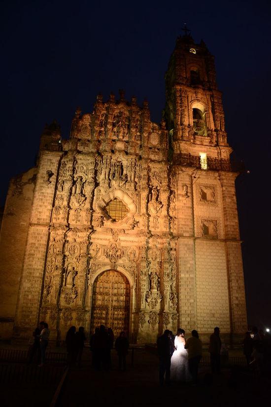 Architecture Light And Shadow Mexico City Miles Away Night Religion Tourist Travel Destinations Tepotzotlan Pueblo Mágico Mexico Desconocido