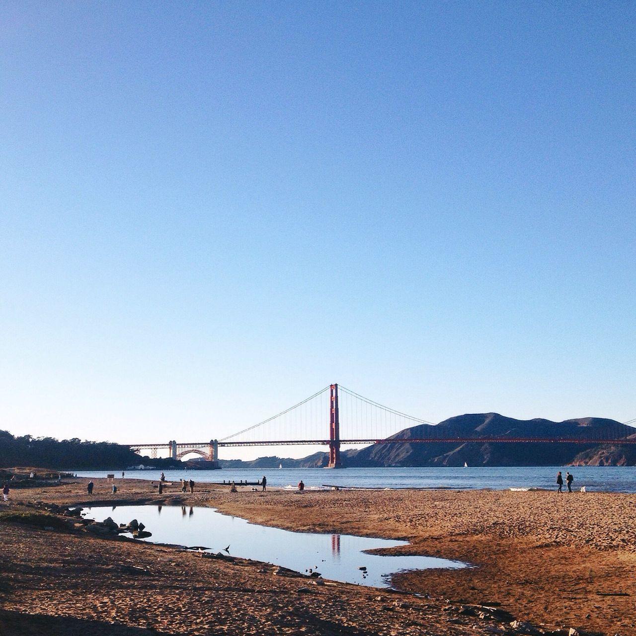 The golden gate San Francisco Golden Gate Bridge