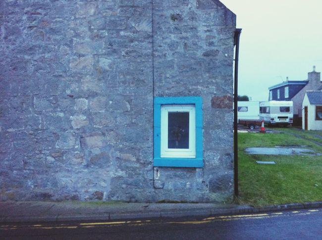 Scotland Lossimouth Window Colour Everywhere
