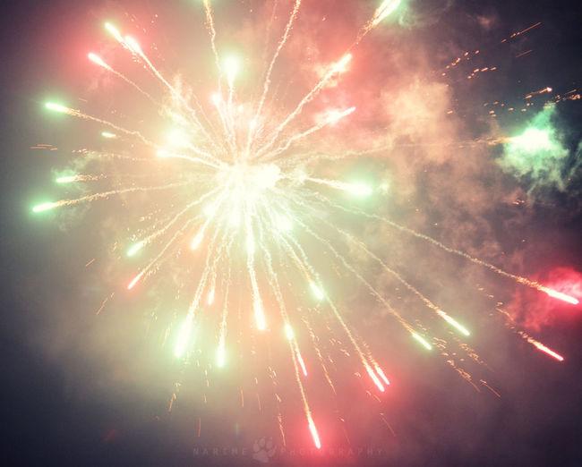 Silvester Firework Lights Narime