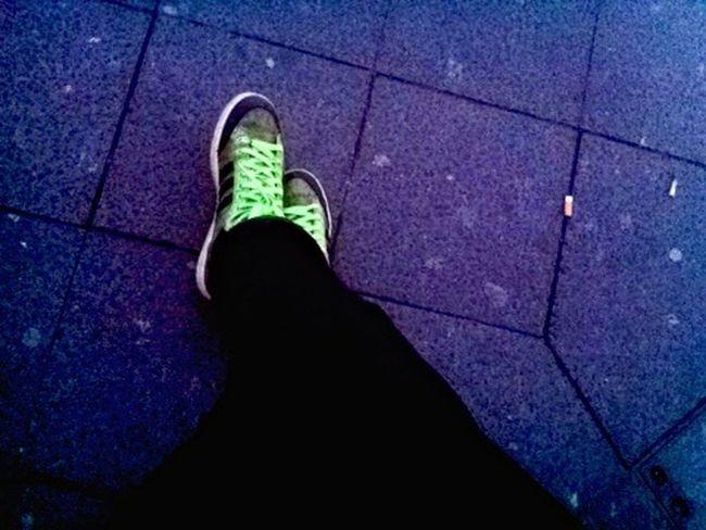 Cold Chillin' @ Volksbühne / Rosa-Luxemburg-Platz   Streetphotography   Blaue Stunde   What's Under My Feet?   Adidasoriginals