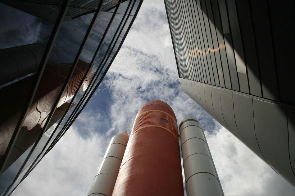 Beautiful stock photos of space, Architecture, Building Exterior, Built Structure, Cloud - Sky