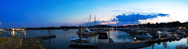 Blush in blue Clouds Skies Clouds And Sky Best Of EyeEm Best EyeEm Shot AMPt_community Summer2016 Panoramic Photography NEM Mood Boating Boats Marina Panorama Panoramic Panoramic View Panoramic Landscape