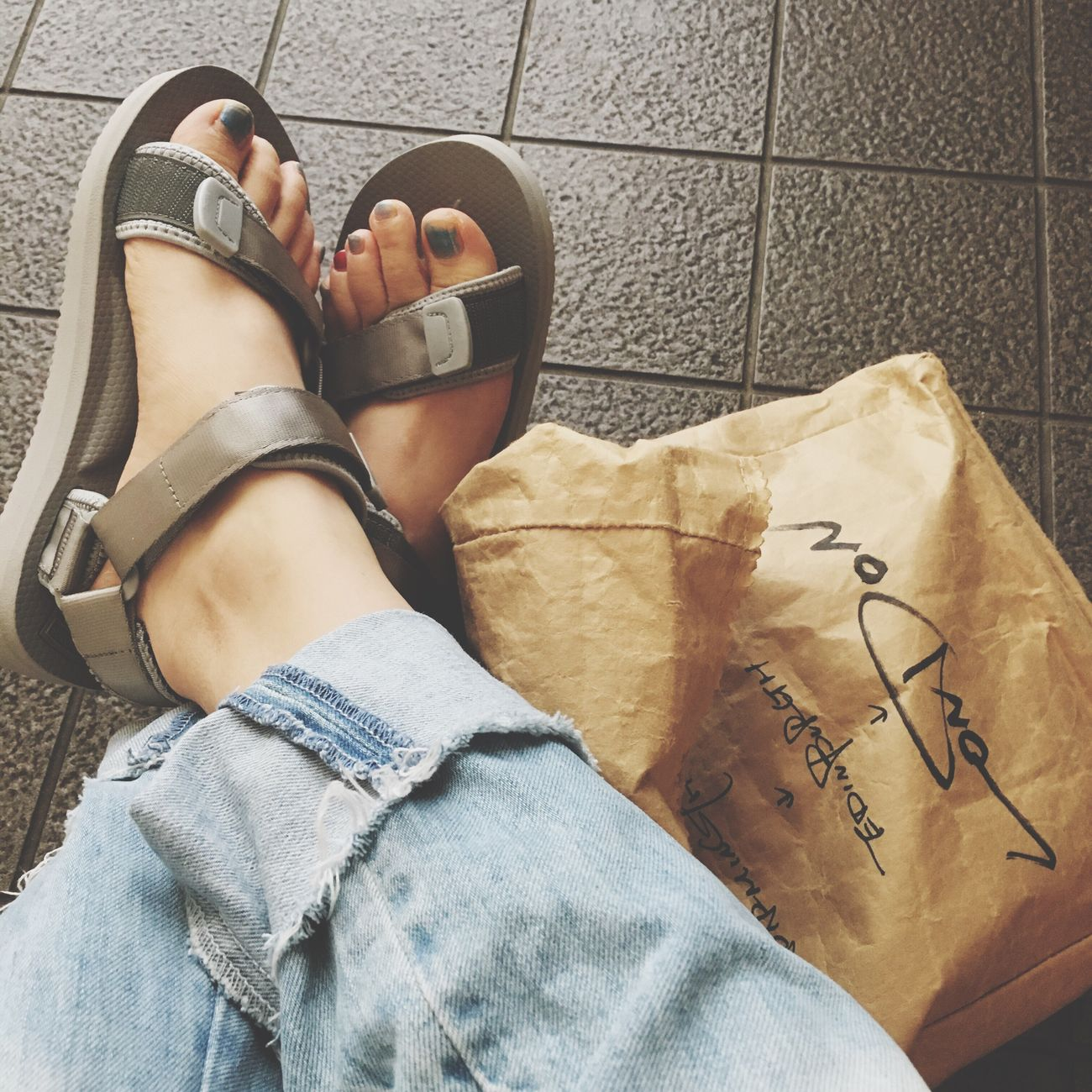 GWたのしい。 Shoes Suicoke Bag Matatabi Denim G Star Raw Happy Holiday Eat Dinner With Friend