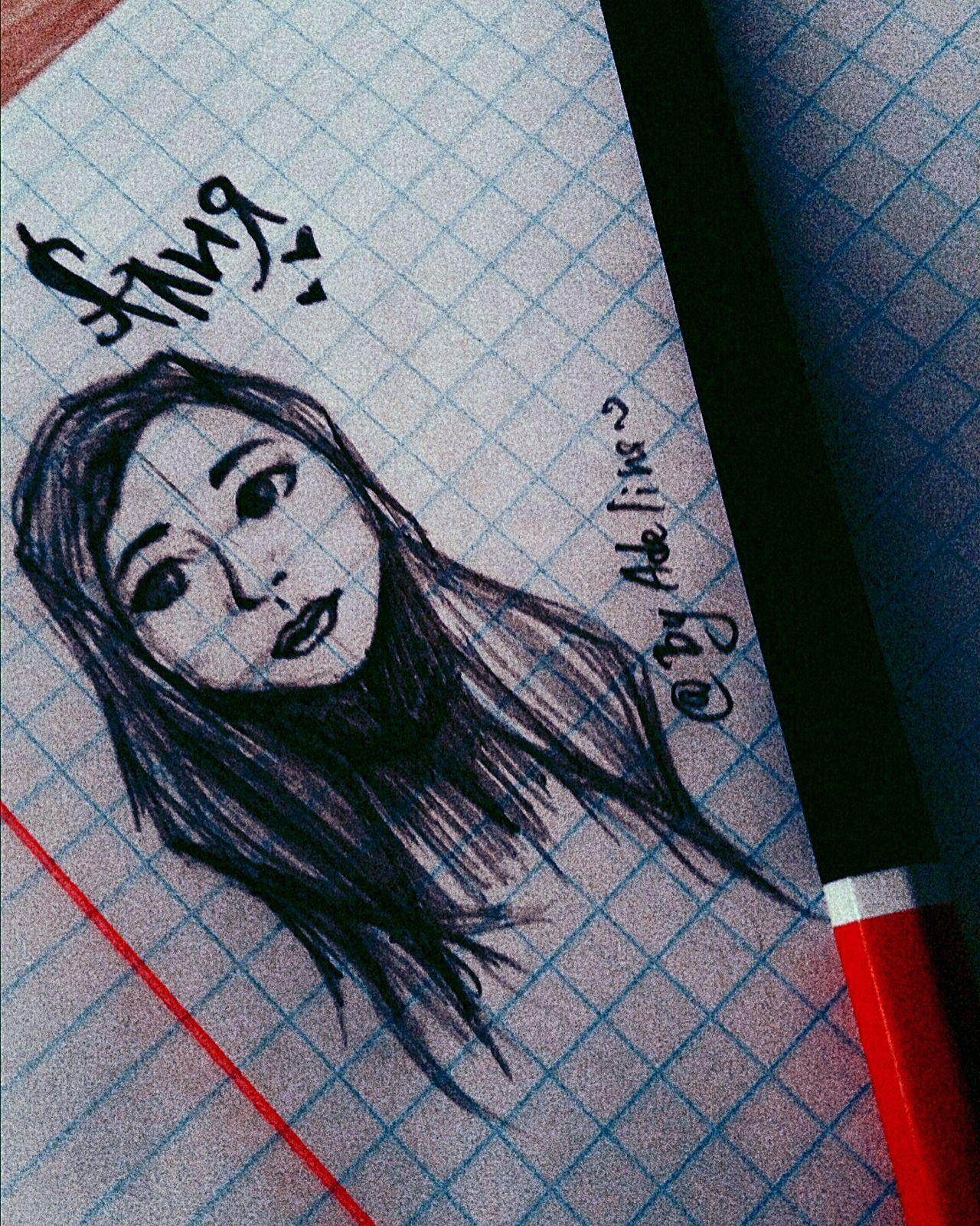 рисунок подруга нарисовала