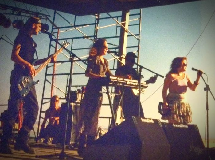 Rock'n'Roll My Band That's Me Bandfamily Family Band 1996 Outdoor Festival Rêverie Triple Shot Band Dansereau Family