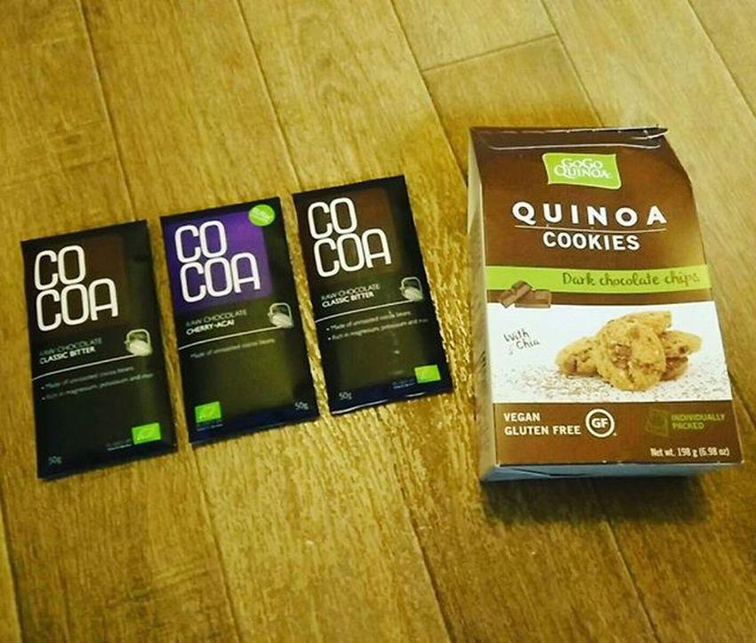 Vegan treats - here's to secretly hoping my kids don't like them 😈 Vegan Vegantreat Veganchocolate Cocoa
