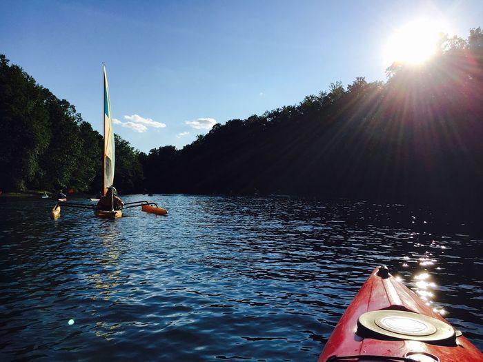 Kayaking Beautiful Day