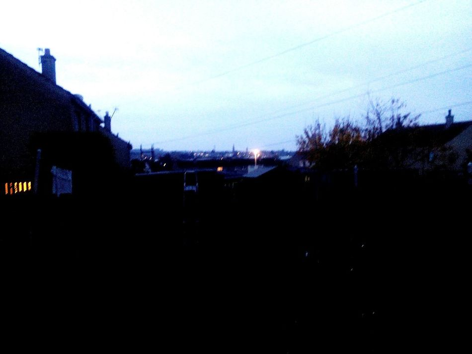 Home Sweet Home MyBackGarden View Late Afternoon Elgin Scotland