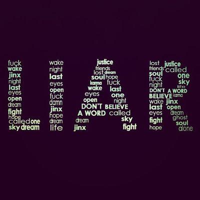 You're a liar . . . :)