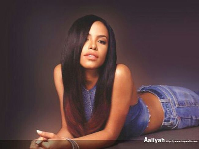 R.i.p Aaliyah <3 . . . . She Beautiful