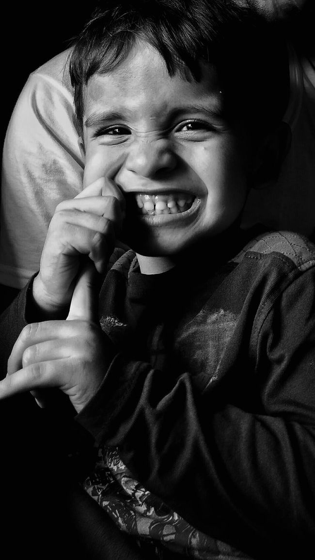 Monochrome Photography Childhood Innocence Babyhood Smiling Finger In Mouth Cute Cute Boy Black And White Black And White Photography Emotions Emotions Captured Innocence In Eyes Beauty In Eyes Smiling Cute Smile  Teeth