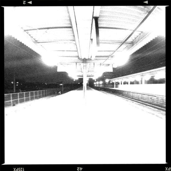 TheMinimals (less Edit Juxt Photography) Monochrome Public Transportation Way Of The Future