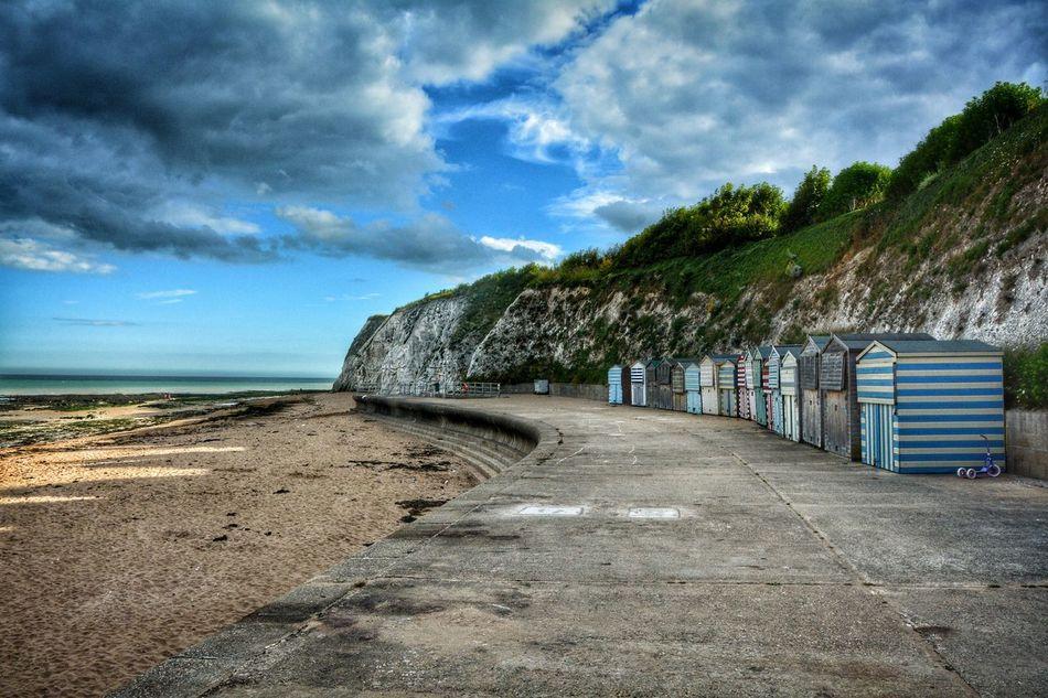 Broadstairs Beach Beah Sand Broadstairs Dover Seaside Ocean