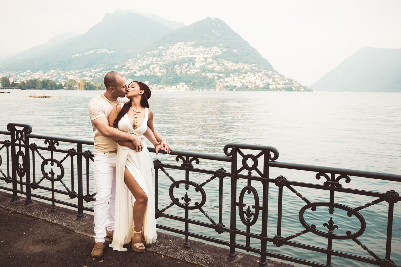 A ton of love Adult Adults Only Beautiful People Beauty In Nature Bonding Cheerful Couple - Relationship Dating Embracing Flirting Happiness Heterosexual Couple Honeymoon Love Mountain Photography Themes Relaxation Romance Togetherness Travel Two People Vacations Wife Women Young Couple