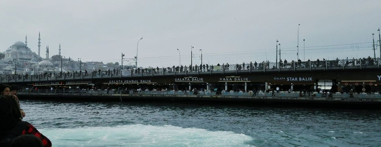 Bridge - Man Made Structure Travel Destinations Day Sea Mode Of Transport Urban Skyline Bosphorus, Istanbul Istanbullife Istanbul Turkey Istanbuldayasam Istanbulcity