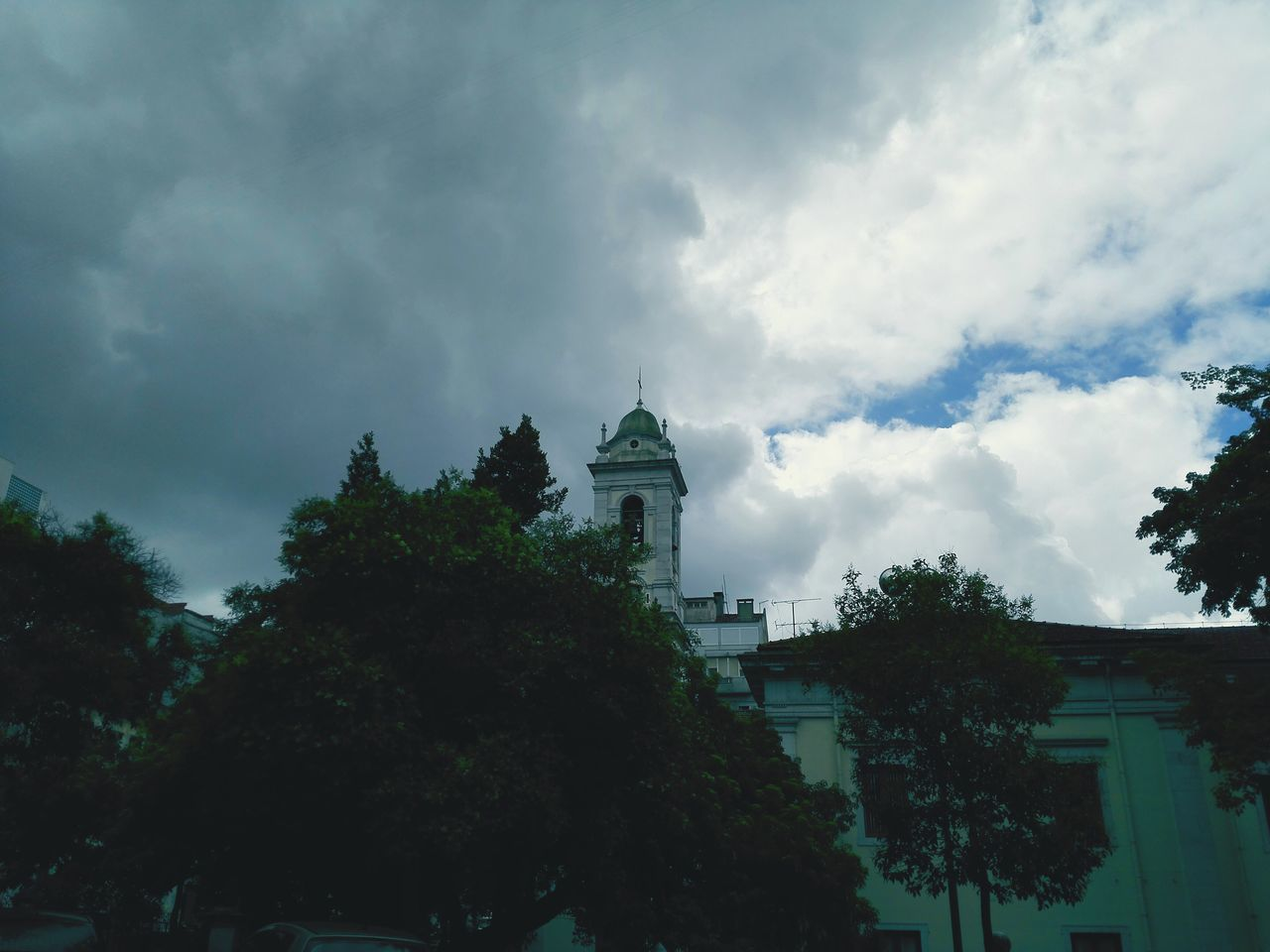 Lisbon Lisbonlovers Portugal Church Sky Clouds Sky And Clouds Tree The Street Photographer - 2016 EyeEm Awards Honor6