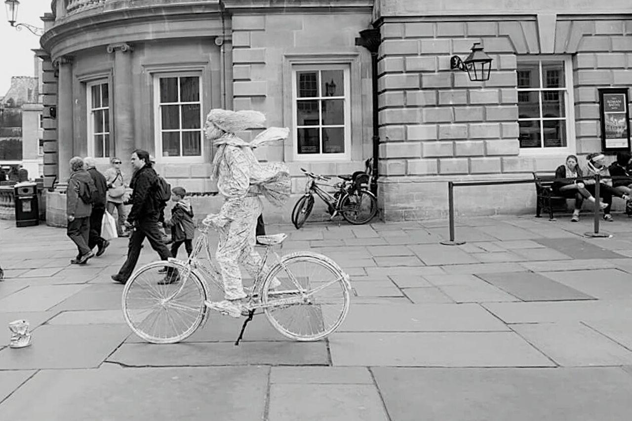 UK Diaries 5.9 EyeEm Best Shots United Kingdom Travelling Bathcity Romanbaths Samsung Galaxy S6 Edge Living Statue Street Artist